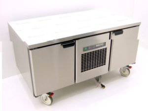 Arctic 2 Door Undercounter Fridge Front