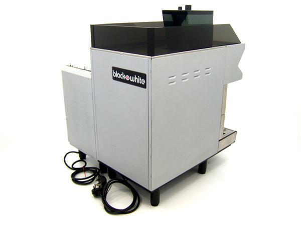 Black and White CT Coffee Machine Rear