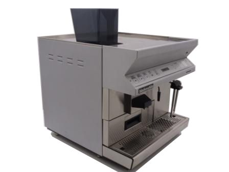 Black and White CTS Espresso Coffee Machine Angled