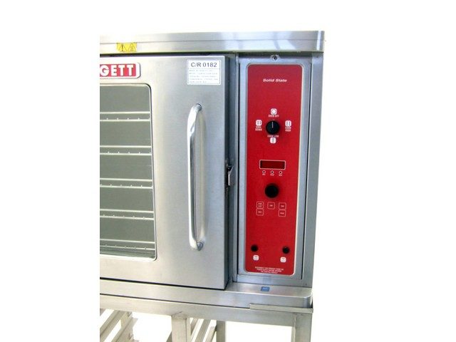 Blodgett Convection Oven Controls