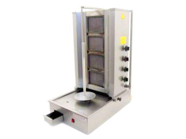 Doner Kebab Machine Burner Front Angle