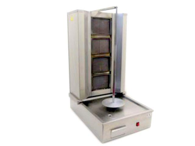 Doner Kebab Machine 4 Burner Front
