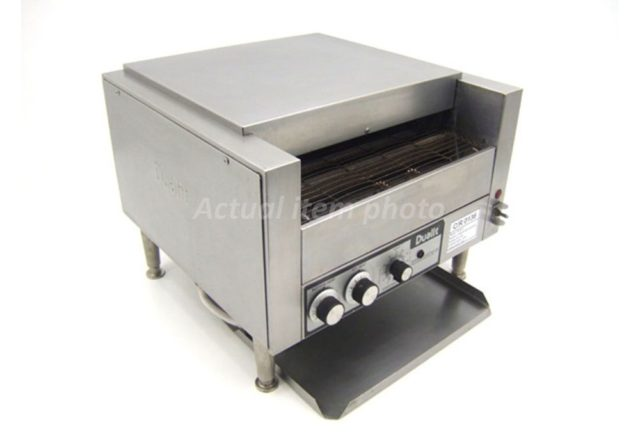 Dualit Conveyor Turbo Toaster Front Angle