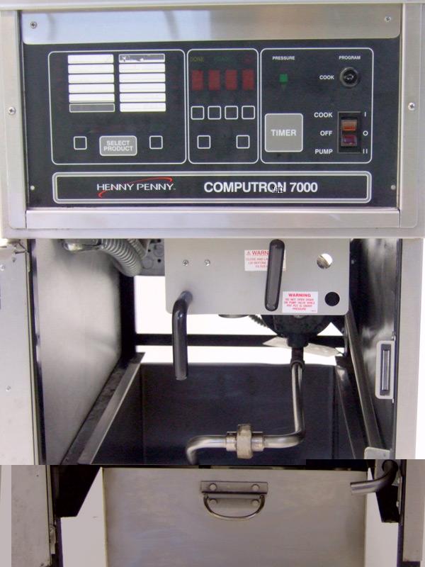 Henny-Penny-500C-Computron-7000-Pressure-Fryer-Controls