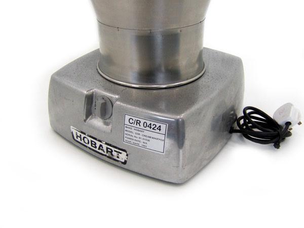 Hobart-Cream-Whipping-Machine-Label