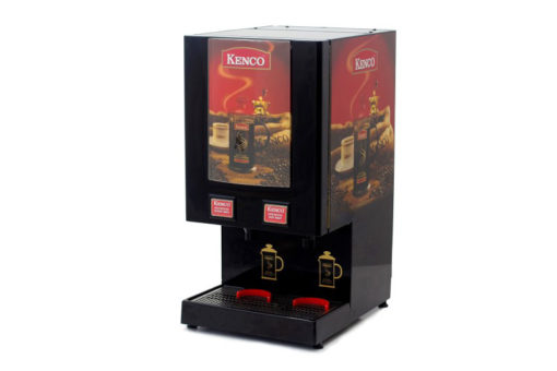 Kenco Fully Automatic Cafetiere Dispenser Front Right