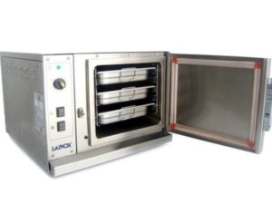 Lainox-FV03-Steaming-Oven-Open-Left