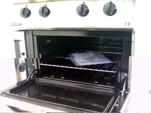 Mareno CFG G Burner Gas Oven Range Internal