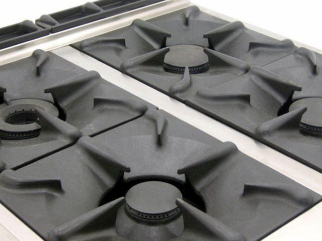 Mareno CFE G Dual Fuel Oven Range Detail