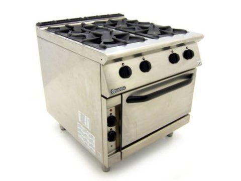 Mareno CFE G Dual Fuel Oven Range Left