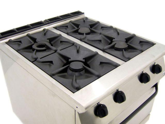 Mareno CFE G Dual Fuel Oven Range Top Controls