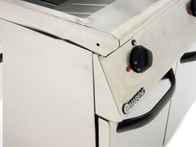 Mareno F E Twin Fryer Closeup