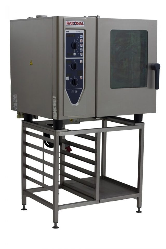 Rational-CM61-6-Grid-Combi-Oven-Closed