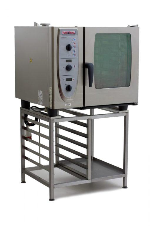 Rational-CM61-6-Grid-Combi-Oven-Front-Left