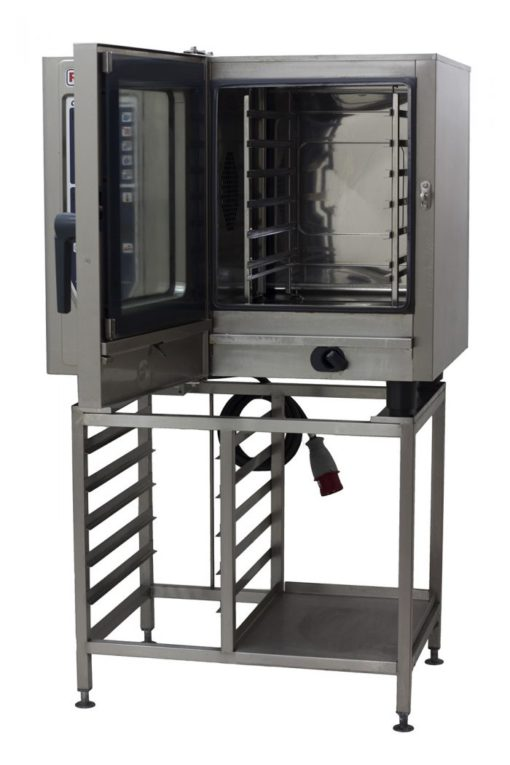 Rational-CM61-6-Grid-Combi-Oven-Front-Open