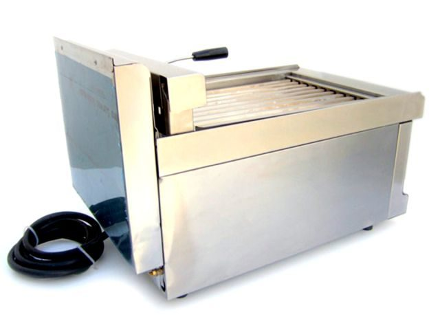 Silko Hotdog Cooker Roller Grill Rear
