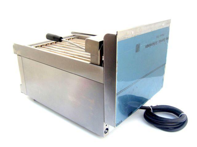 Silko Hotdog Cooker Roller Grill Rear Right