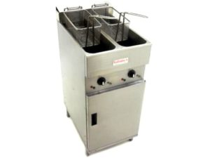 Valentine-V2200-Double-Fryer-Front