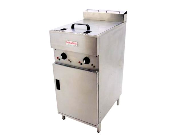 Valentine V2200 Double Fryer Front Right
