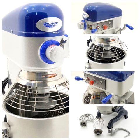 Collage Vollrath Litre Planetary Mixer