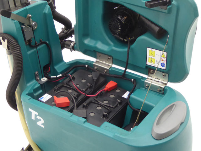 Tennant T Scrubber Dryer Inside