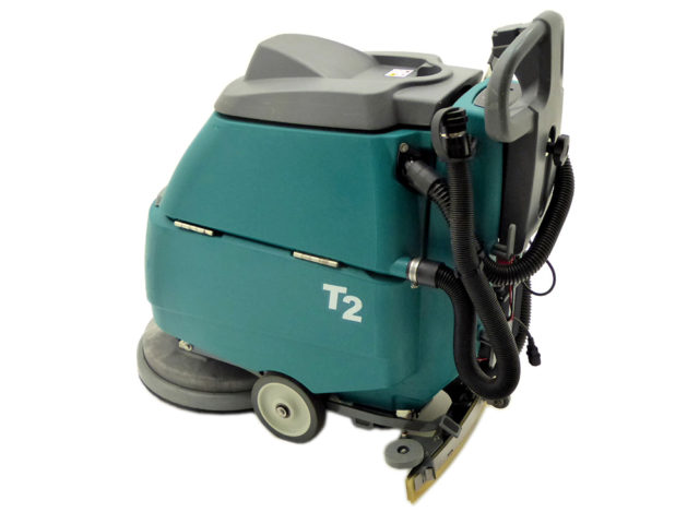 Tennant T Scrubber Dryer Left