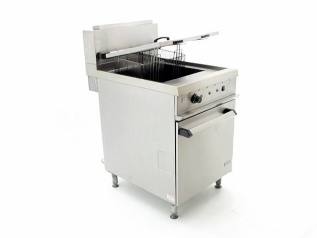 Falcon Chieftain Gas Fryer G Front Angled
