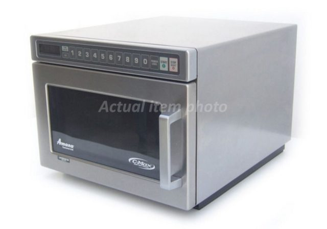 Amana W Commercial Microwave Front