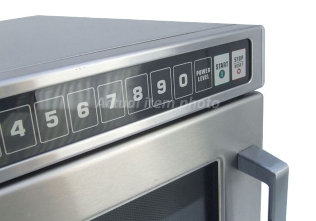 Amana W Commercial Microwave Front Controls
