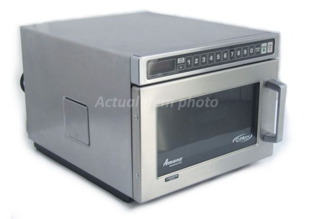 Amana W Commercial Microwave Front Left
