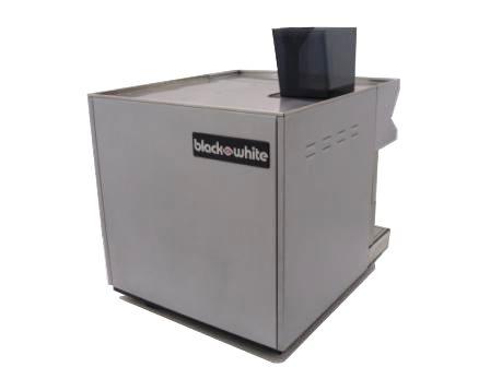 Black and White CTS Espresso Coffee Machine Rear