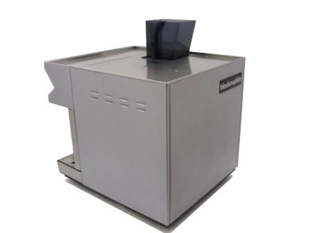 Black and White CTS Espresso Coffee Machine Rear Left