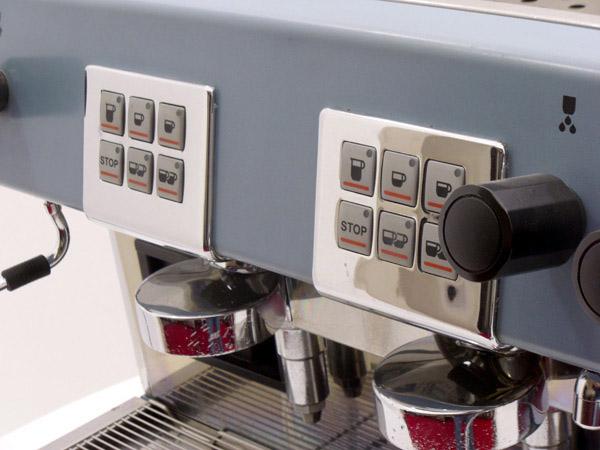 Brasilia Roma Group Espresso Coffee Machine Controls