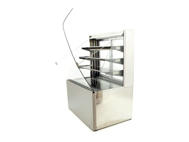 Caravell Cake Display Patisserie P Fridge Front Lid