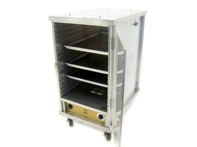 Cres Cor Crown X Proofing Holding Cabinet Open