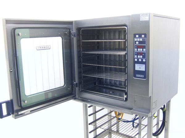 Hobart-C8101-2E-Combination-Oven-Open