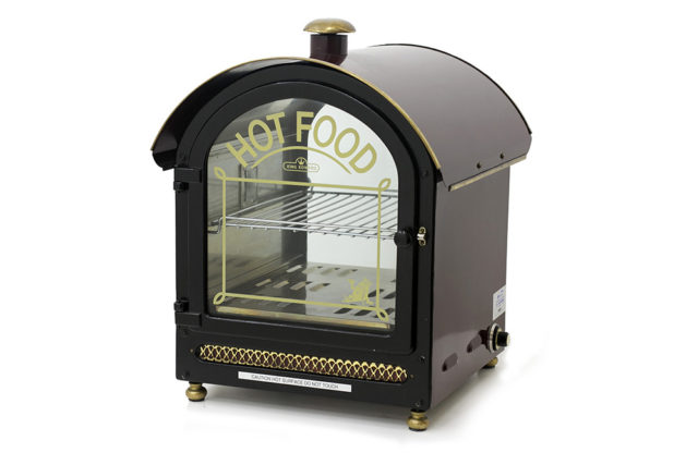 King Edward Hot Food Warmer Branded Right