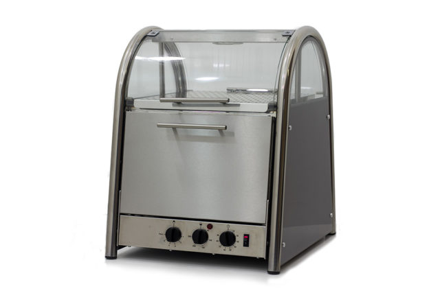 King Edward Vista 40 Bake and Display Oven Front Left