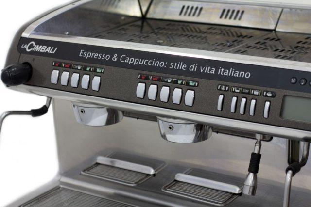 La Cimbali M Dosatron Espresso Machine Controls Front