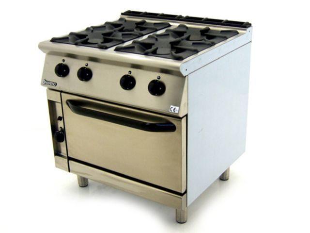 Mareno CFG G Burner Gas Oven Range Front Right
