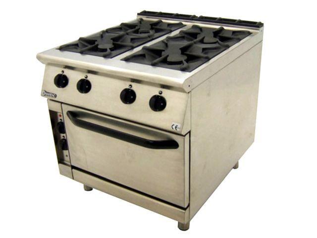 Mareno CFE G Dual Fuel Oven Range Front