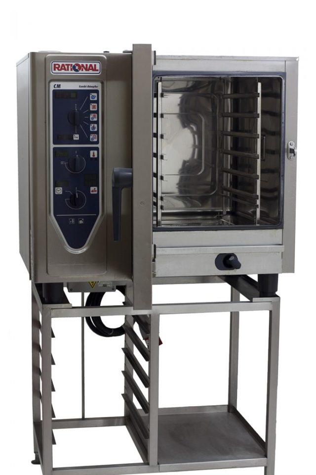 Rational-CM61-6-Grid-Combi-Oven-Front