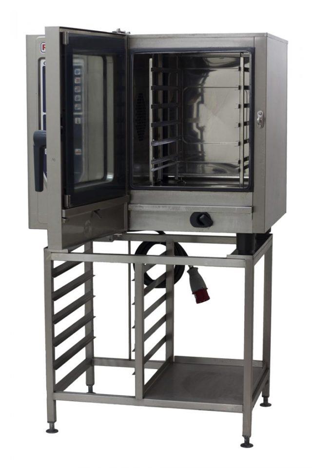 Rational-CM61-6-Grid-Combi-Oven-Front-Open