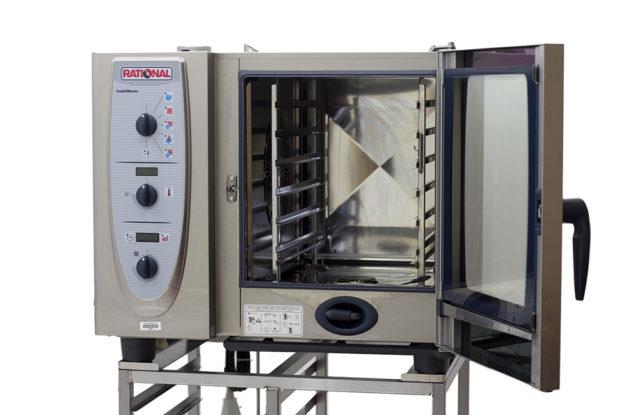 Rational-CM61-6-Grid-Combi-Oven-Inside