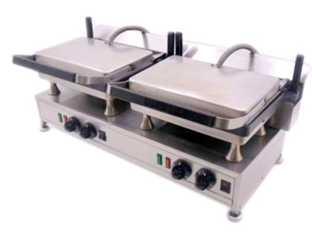 Silesia Velox Double Contact Grill Closed