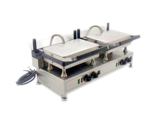 Silesia Velox Double Contact Grill Closed Left
