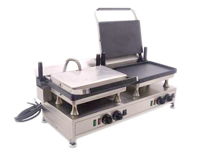 Silesia Velox Double Contact Grill One Side