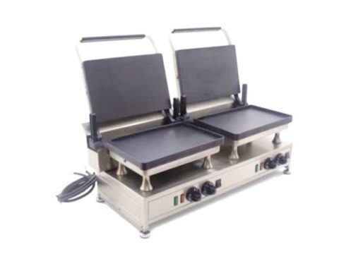 Silesia Velox Double Contact Grill Open Left