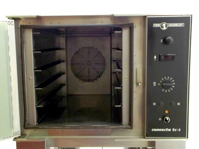 Tom Chandley Convecta TC Bake Off Oven Inside