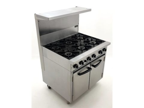 Blue Seal Cobra Burner Oven Range With Overhead Grill Shelf
